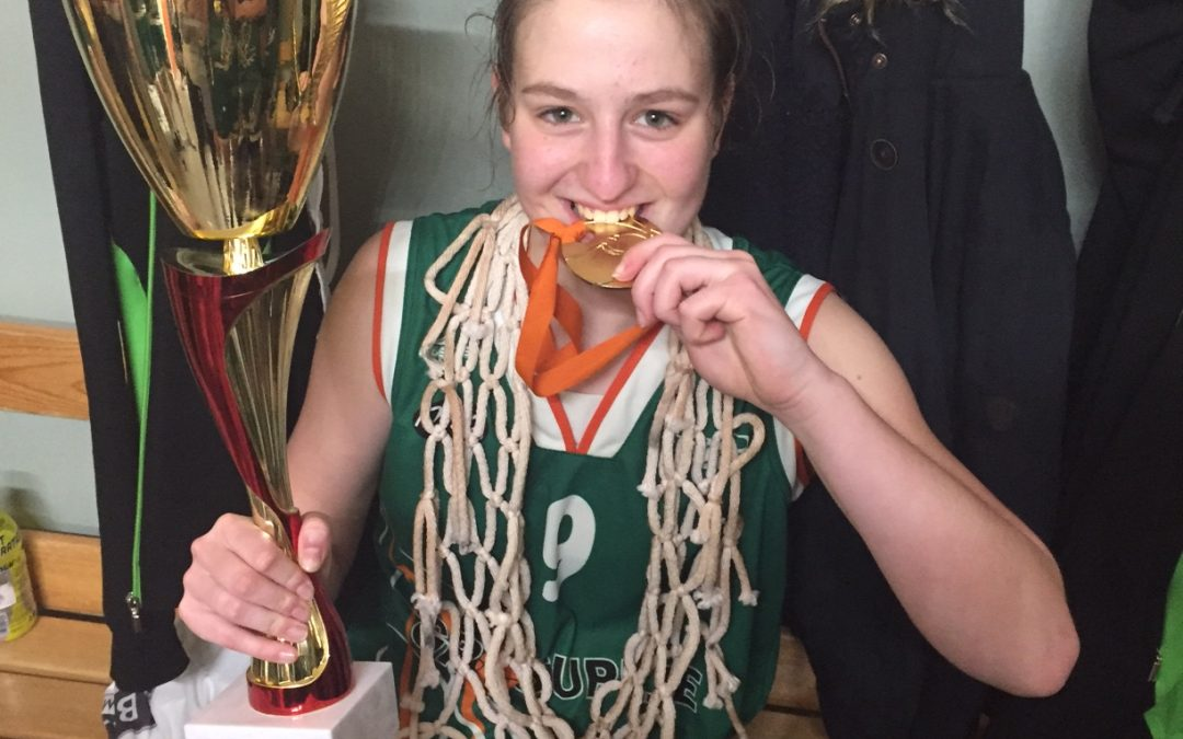 Tjaša Kenda državna prvakinja v košarki U17
